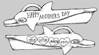 Mothers Day Scrimshaw